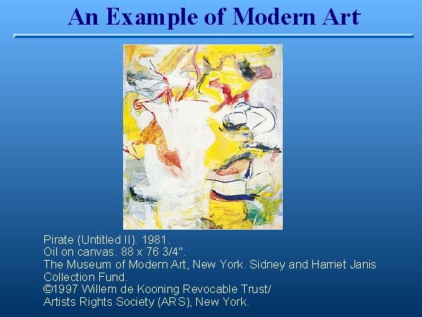 painting description example